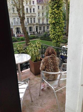 Dolphin Hotel : Balcony
