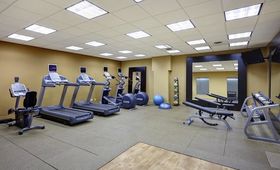 Hilton Saint John: Fitness Room