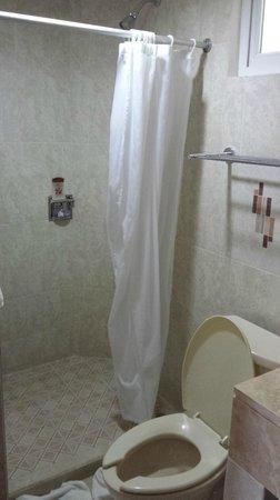 Hotel Chablis Palenque: Душ в ванной