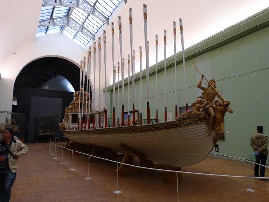 Musée de la Marine : Barco real