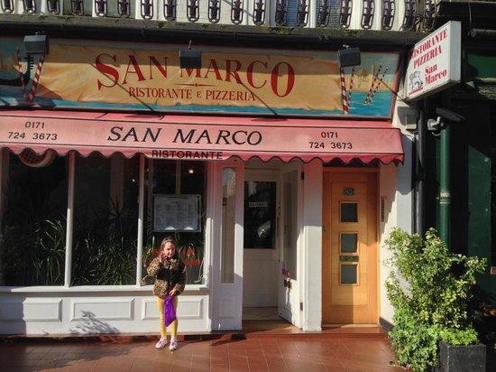 San Marco Ristorante : San Marco on a Sunny Sunday