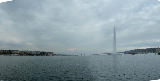 Genfer See: Fontein: Jet d'eau