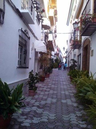Casco antiguo de Marbella: Otra típica calle