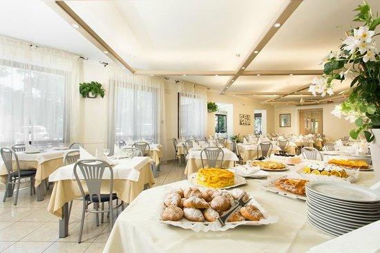 Hotel Trieste: Sala da pranzo