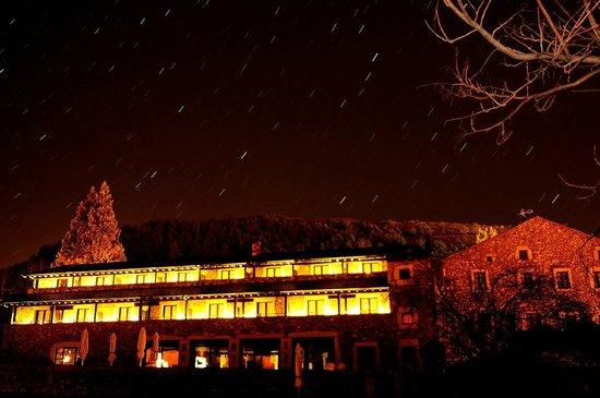 Hotel Bernat de So : De noche ves las estrellas!