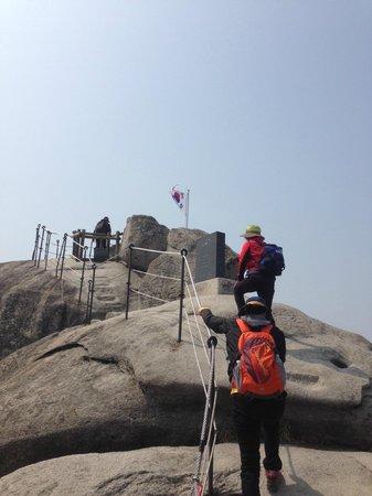 Bukhansan National Park: Baegundae peak