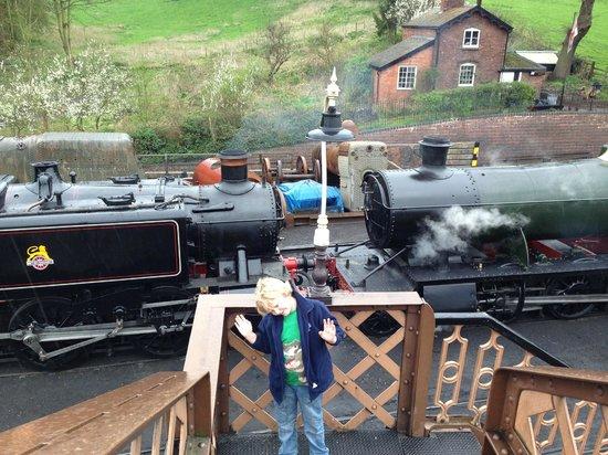 Severn Valley Railway : Shunting at Bridgnorth