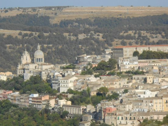 Vista panoramica di Ragusa Ibla