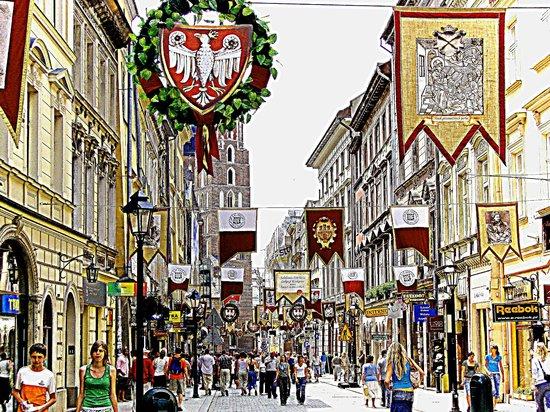 Ulica Florianska: Ul.Floriańska Świątecznie