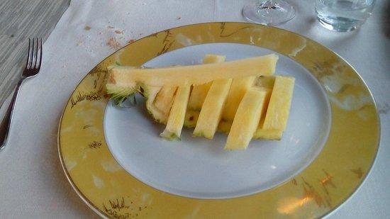 Battello del Sole: Ananas