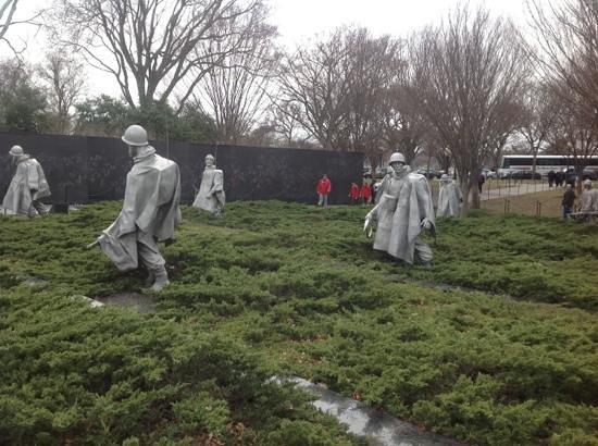 Korean War Veterans Memorial: Añade un título