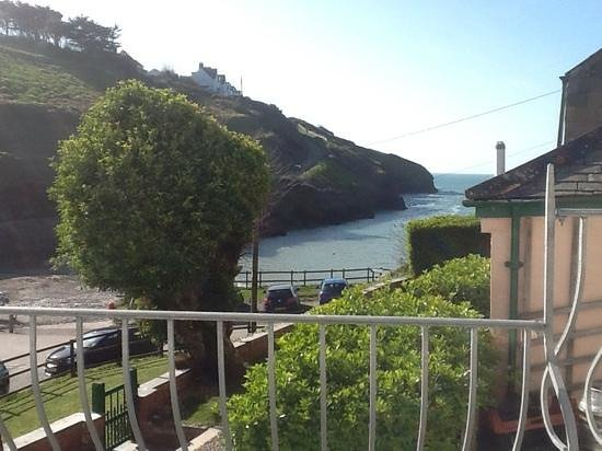 Port Gaverne Hotel: View from our room