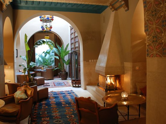 Riad Camilia: Enjoy dinner here!