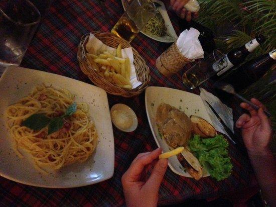 La Dolce Vita Restaurant: Мини-стейки