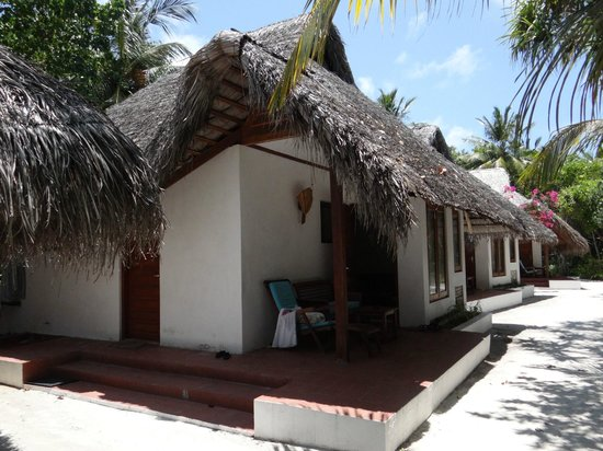 Madoogali Tourist Resort: Les bungalows