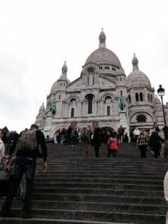 Basilique du Sacré-Cœur de Montmartre : サクレ・クール寺院