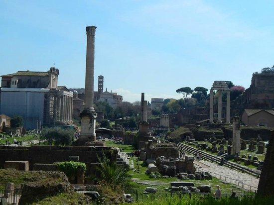 Walks of Italy : Foro Romano - so beautiful!