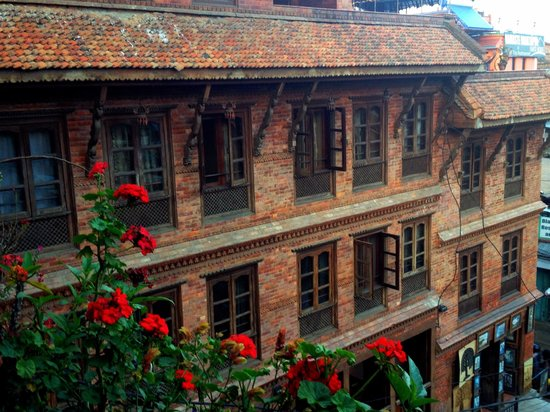 Pagoda Guest House: the charming exterior of the guesthouse