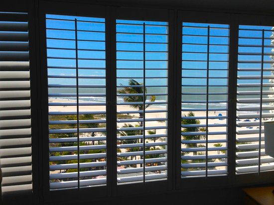 Grand Plaza Beachfront Resort Hotel & Conference Center: View from Room 412