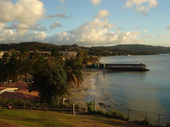 St. James's Club Morgan Bay: view to beach