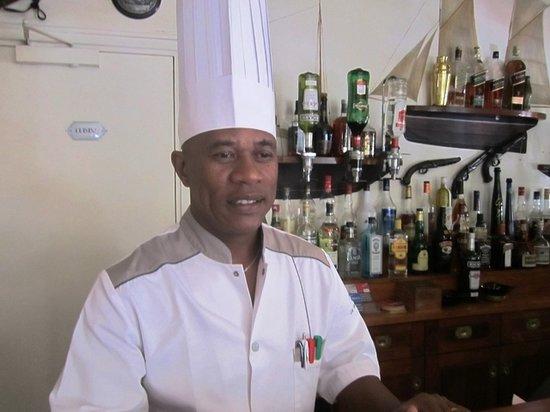 La Varangue: chef RAKOTONDRAVELO Hary Liva