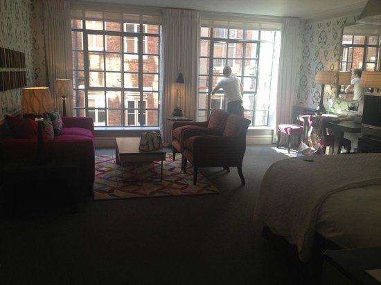 The Soho Hotel: Our room