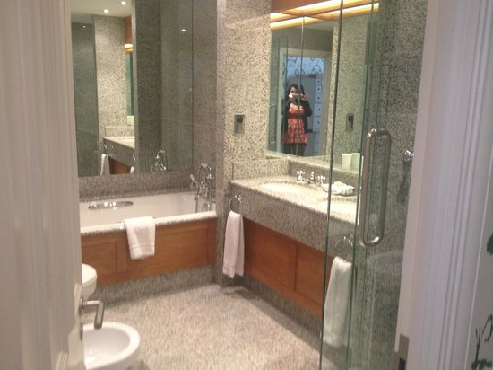 The Soho Hotel: The bathroom