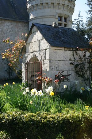 Château de la Roche Martel : Le puits