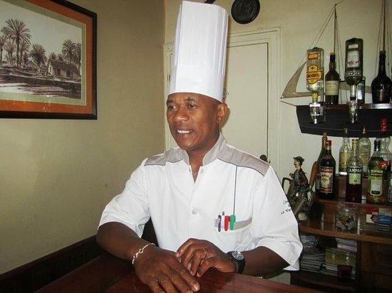 La Varangue : chef RAKOTONDRAVELO Hary Liva
