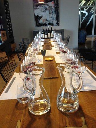 Ampora Wine Tours: End of wine tasting