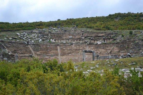 Gölhisar, Türkiye: Kybra amphitheater