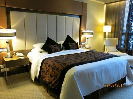 Sofitel Macau At Ponte 16: Comfortable bed!