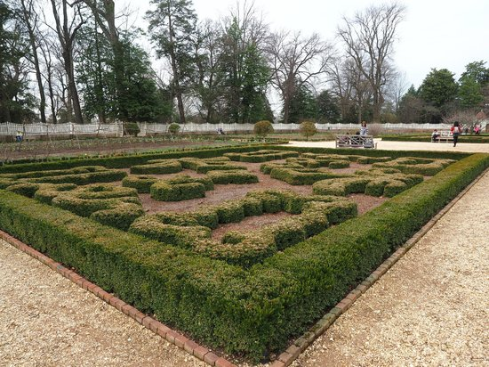 George Washington's Mount Vernon: Formal garden