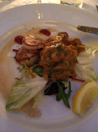 Baltic Restaurant & Bar : Seared scallops