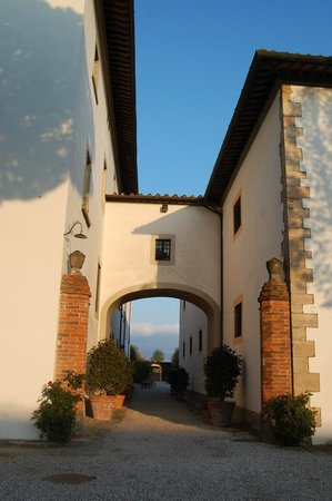 Residenza del Granduca: l'entrata