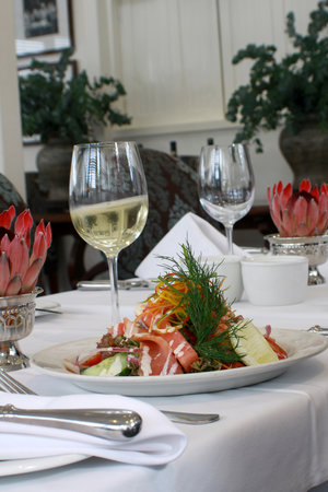 The Brasserie: Franschhoek smoked salmon
