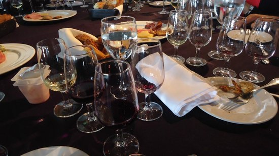 Bodega Bouza: Degustação dos vinhos