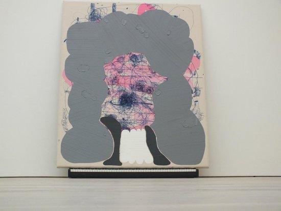 Saatchi Gallery: José Lerma Samuel Bernard  2010  Acrylic on canvas, synthesizer, speakers  189 x 152 x 43 cm