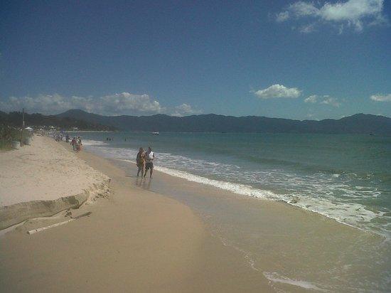 Jurere Internacional: praia de Jurerê Int. -oeste