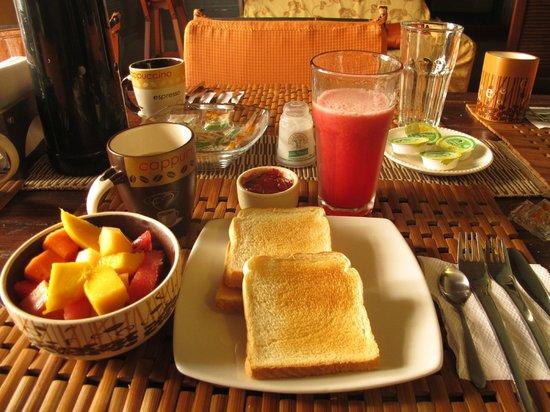 Casa Sweety: Breakfast.
