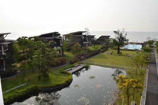 I-Tara Resort & Spa: View from Sea View room # 1311