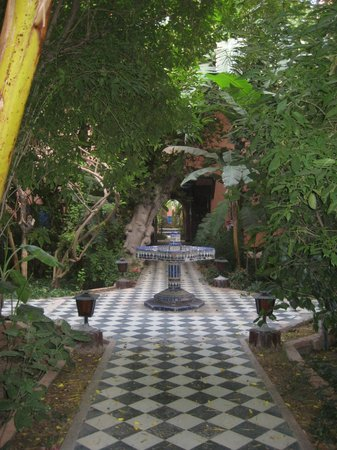 Palais Salam: il giardino