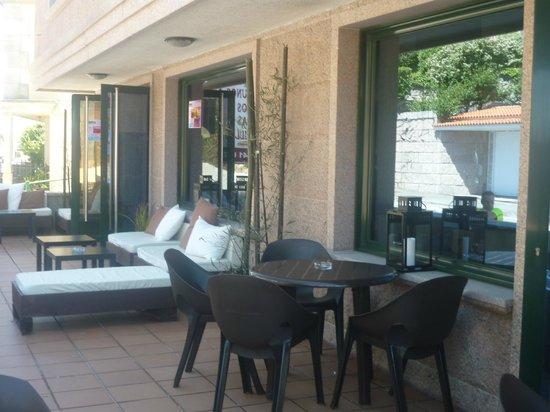 Casa Aurita: terraza de cafeteria