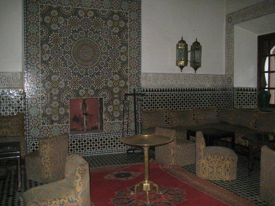 Palais Salam: la hall