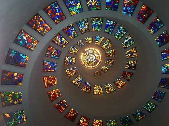 Thanks-Giving Square: Beautiful stain glass design