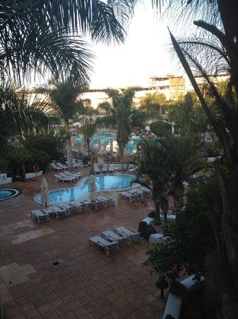 Princesa Yaiza Suite Hotel Resort: Sunrise view from the balcony