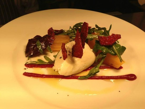 McHugh's Wine & Dine: FIVEMILETOWN GOAT'S CHEESE SALAD, SLOW COOKED BEETROOT