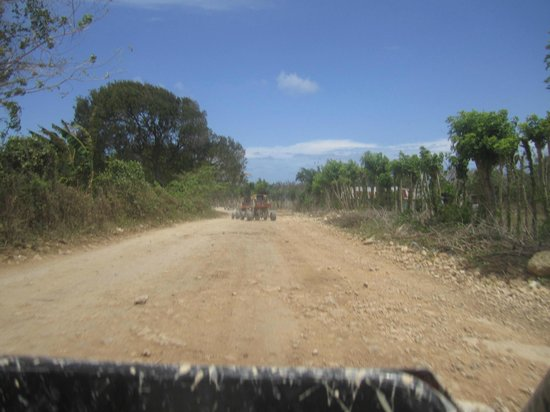 Occidental Caribe : Route en Buggies