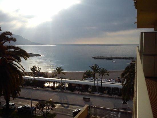 Hotel Palm Garavan : vista balcone