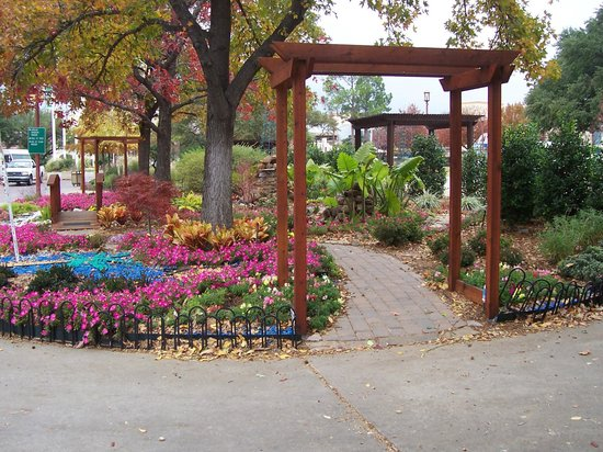 Inviting garden entrance Picture of Fair Park Dallas TripAdvisor